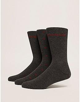 Emporio Armani 3 Pack Socks