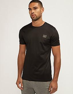 Antony Morato Black Plaque Short Sleeve T-Shirt