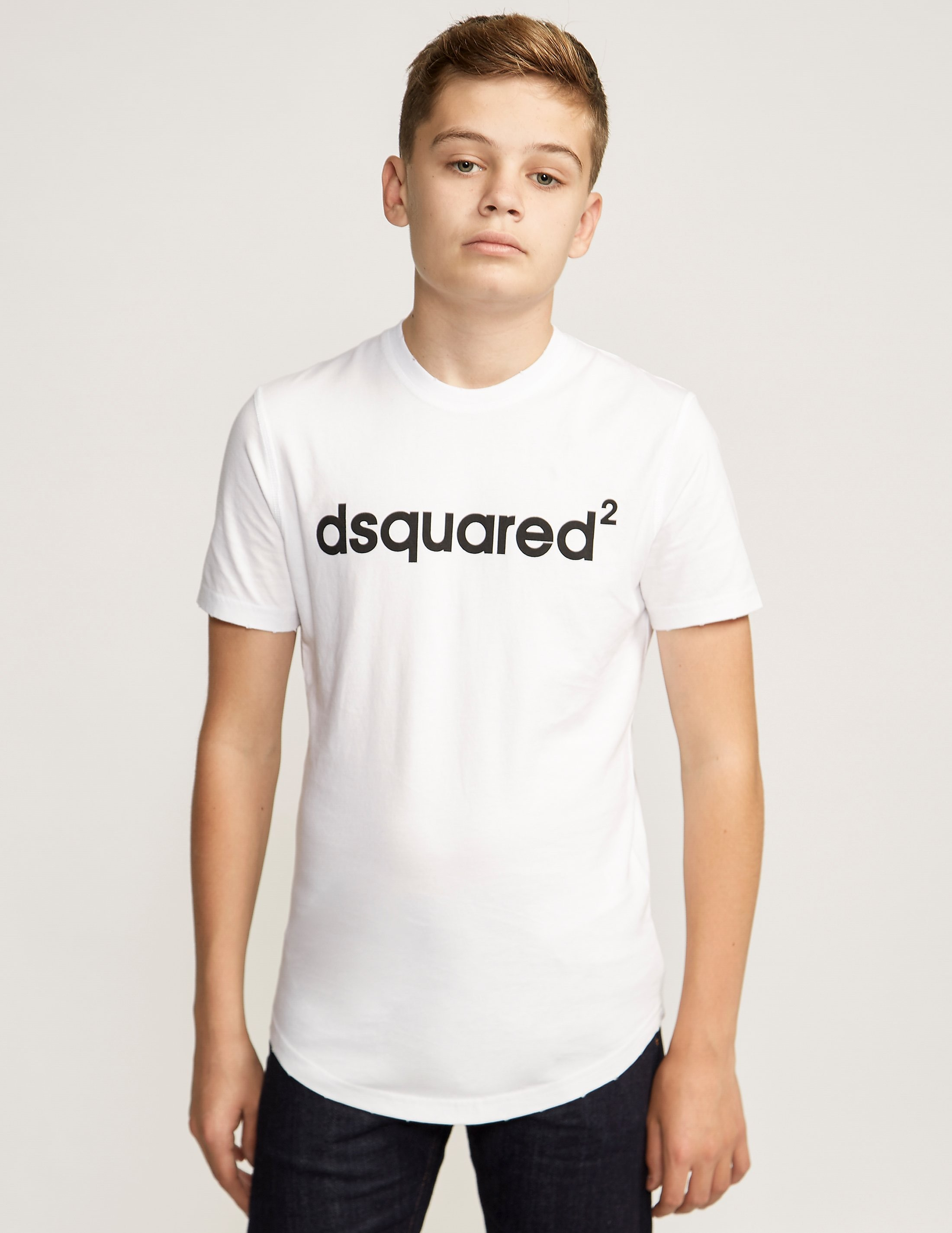 DSQUARED Kids' Script Logo T-Shirt