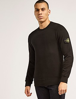 Stone Island Crewneck Badge Sweatshirt