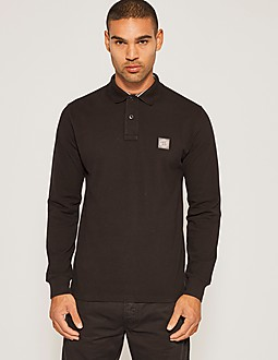 Stone Island Regular Long Sleeved Polo Shirt