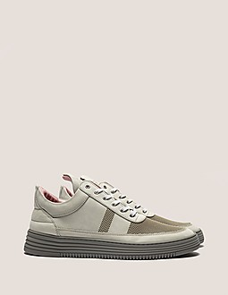 Filling Pieces Low Top Stripe Perforated Trainer