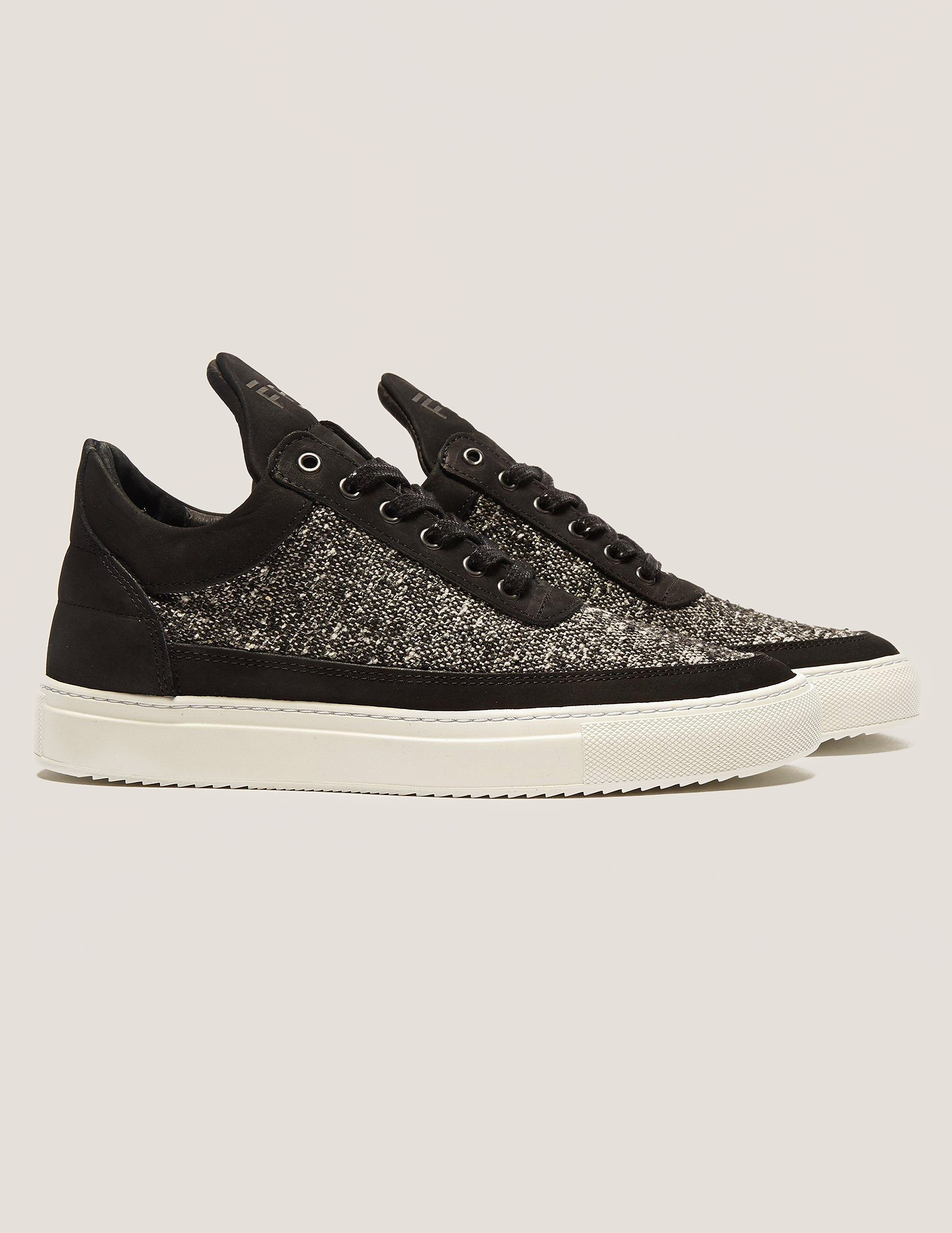 Filling Pieces Low Top Tweed