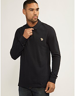 Paul Smith Zebra Long Sleeve Polo Shirt