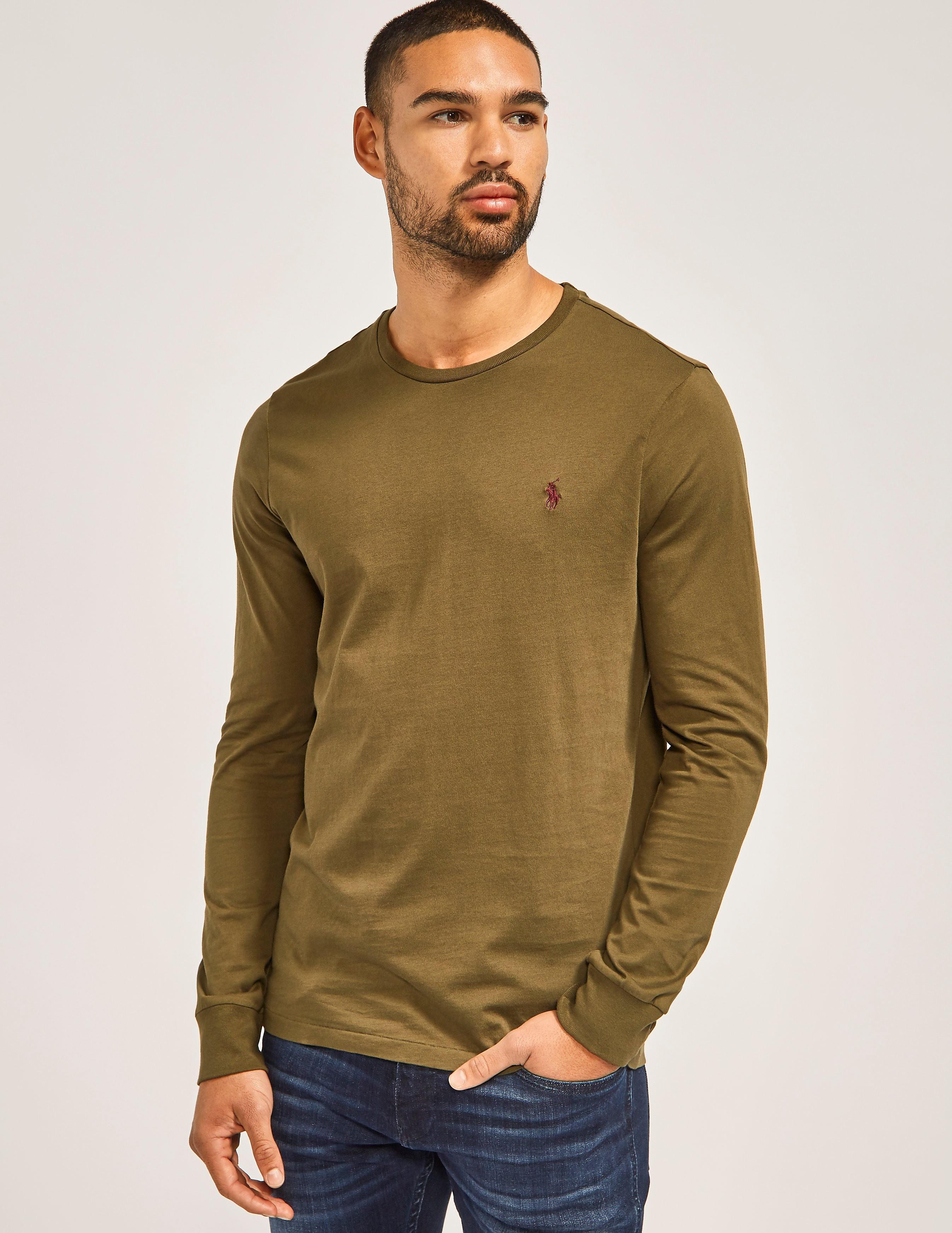 Polo Ralph Lauren Crew Neck Long Sleeve T-Shirt
