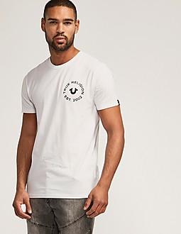 True Religion Chest Logo T-Shirt