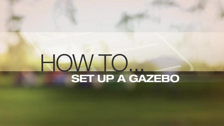 Image for Video - How to Set Up a Gazebo article