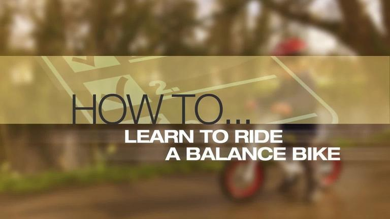 Image for Video - How to Learn to Ride on a Balance Bike article