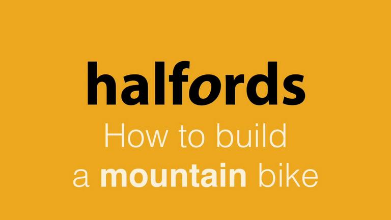 Image for How to Build a Mountain Bike from Halfords article