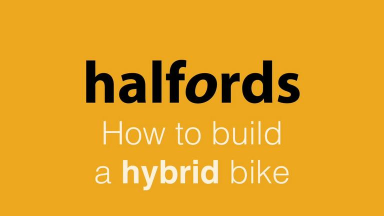 Image for How to Build a Hybrid Bike from Halfords article