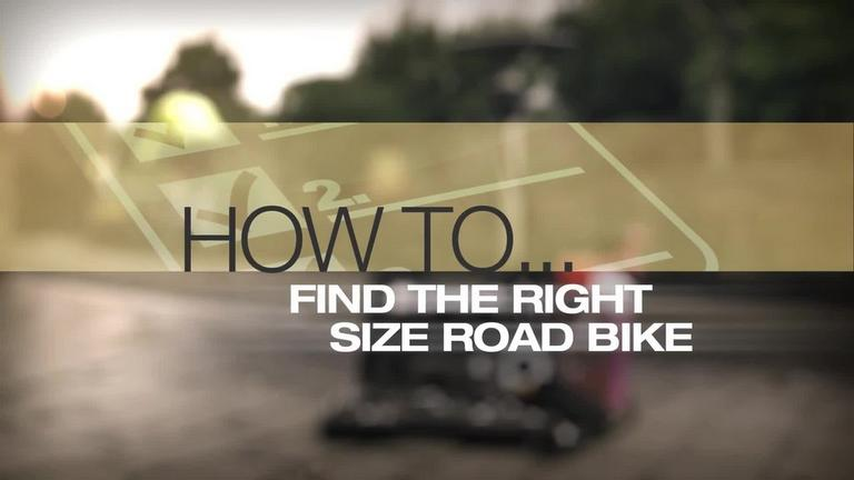 Image for Video - How to Find the Right Size Road Bike article