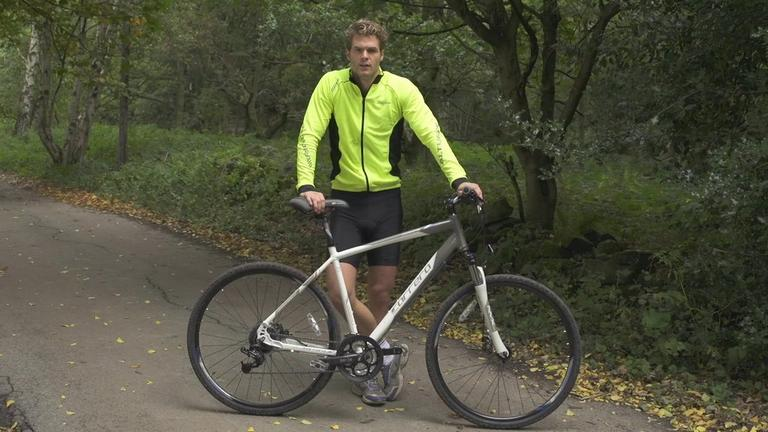 Image for How to Find the Right Size Hybrid Bike article