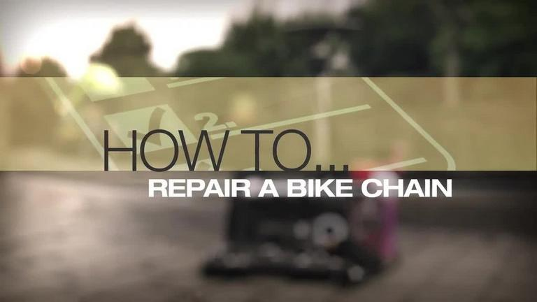 Help Amp Advice Video How To Repair A Bike Chain