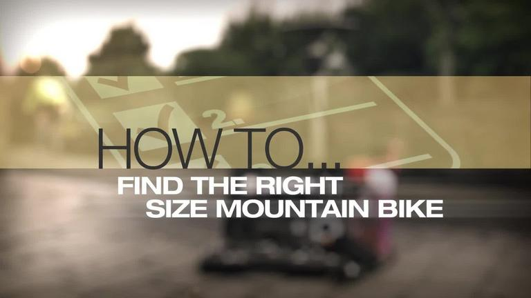 Image for Video - How to Choose the Right Sized Mountain Bike article