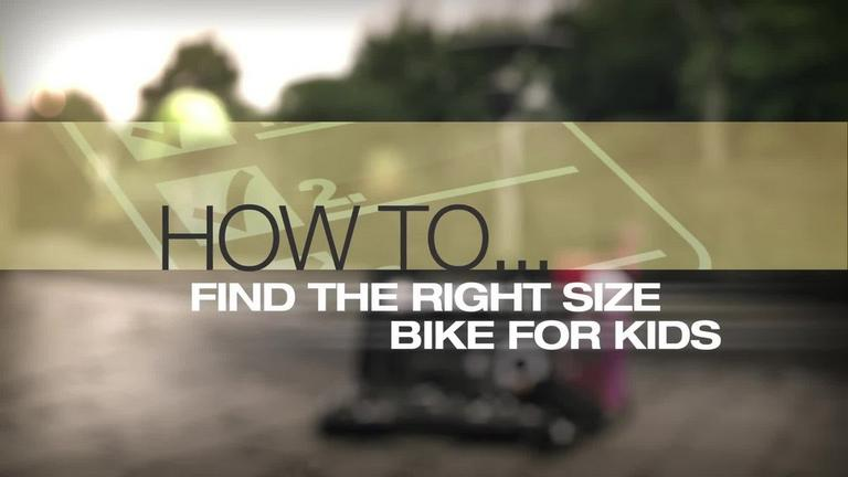 Image for Video - Finding the Right Size Bike for your Kids article