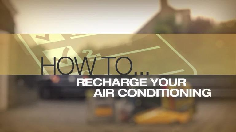Image for Video - How to Recharge your Air Conditioning article