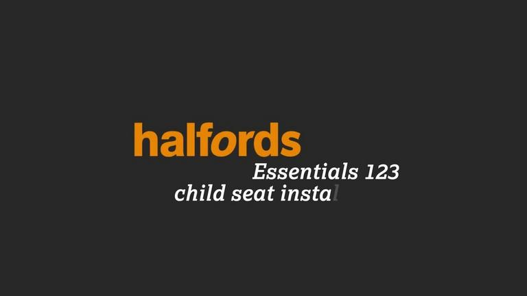 Image for Halfords Essentials Group 123 Child Seat Fitting Instructions article