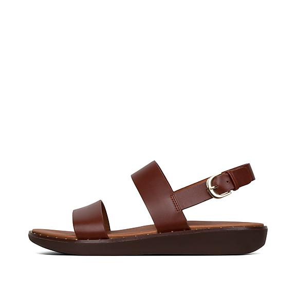 7a2915408731 Add to bag. BARRA. Leather Back-Strap Sandals