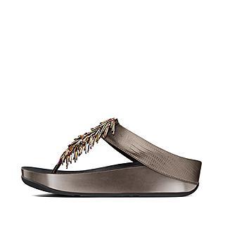1cb0f6758 Women s CHA-CHA Leather Toe-Thongs