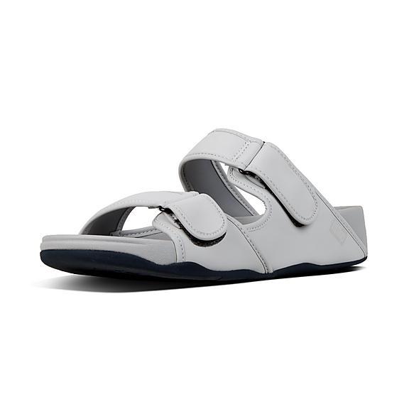 7c2ecef7250489 Men s Woven Leather Slides.  110.00 · GOGH