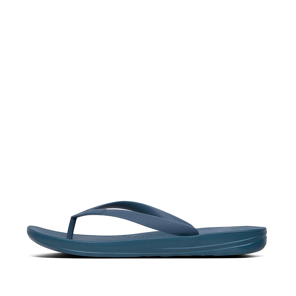 핏플랍 아이쿠션 쪼리 FitFlop IQUSHION Ergonomic Toe-Thongs,Dark Teal