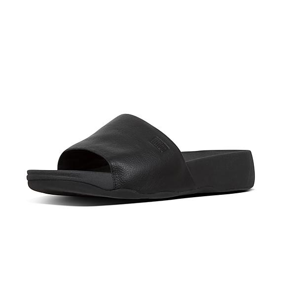 2e0cb7b0865a26 Add to bag. KANO. Leather Pool Slides