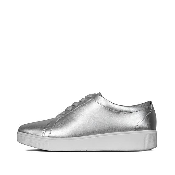 46489daee35660 Snake-Print Leather Sneakers. £85.00. ONLINE EXCLUSIVE · RALLY
