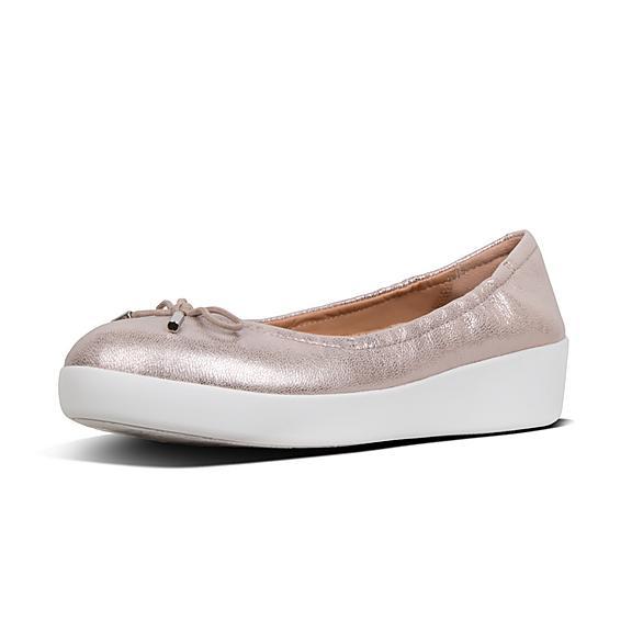 e3883c60f5ceef Add to bag. SUPERBENDY. Leather Ballet Flats