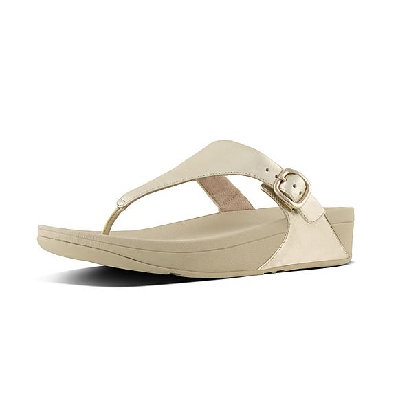 9886b5adfcafc SKINNY. Add to bag. SKINNY. Leather Toe-Thong Sandals