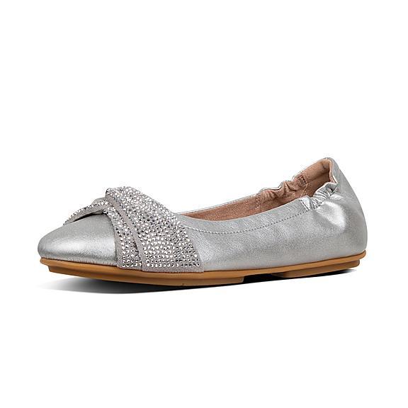 0ee5f22b1c62 Add to bag. TWISS. Crystal Ballet Flats