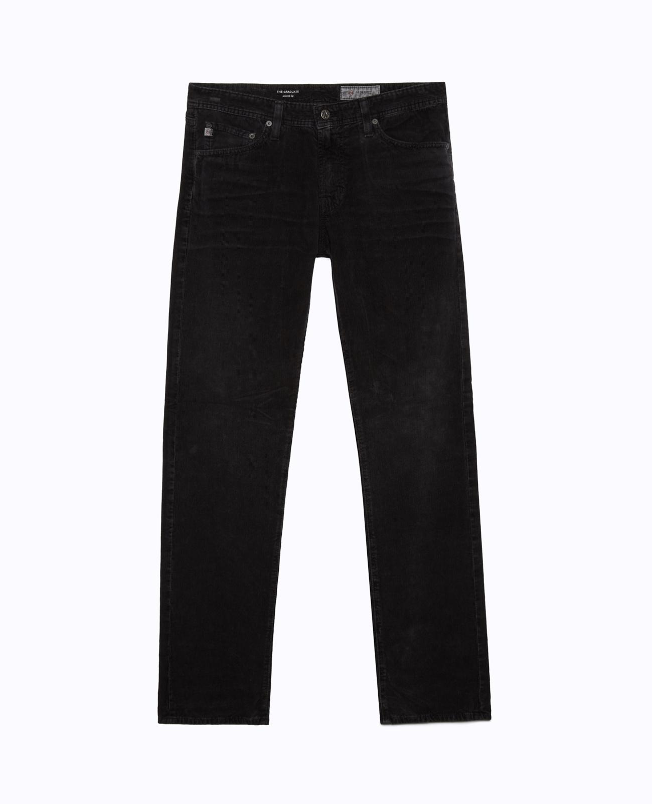 8984afdb1b4ea The Graduate In Sulfur Black Slim Straight Jeans AG Jeans Official Store