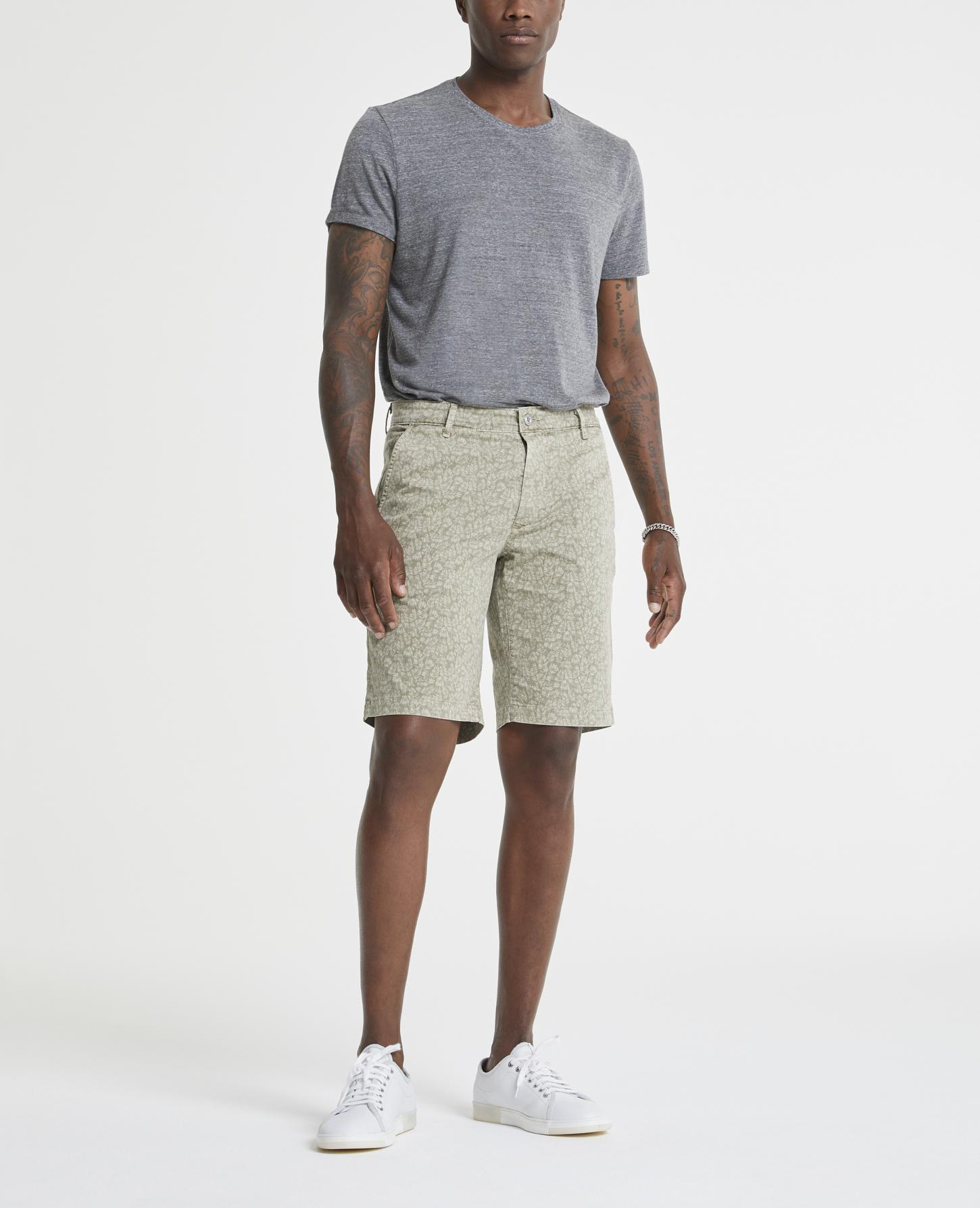AG Adriano Goldschmied Griffin Lightweight Stretch Sateen Shorts