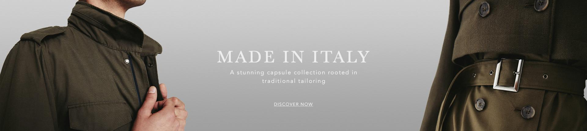The Made In Italy Collection