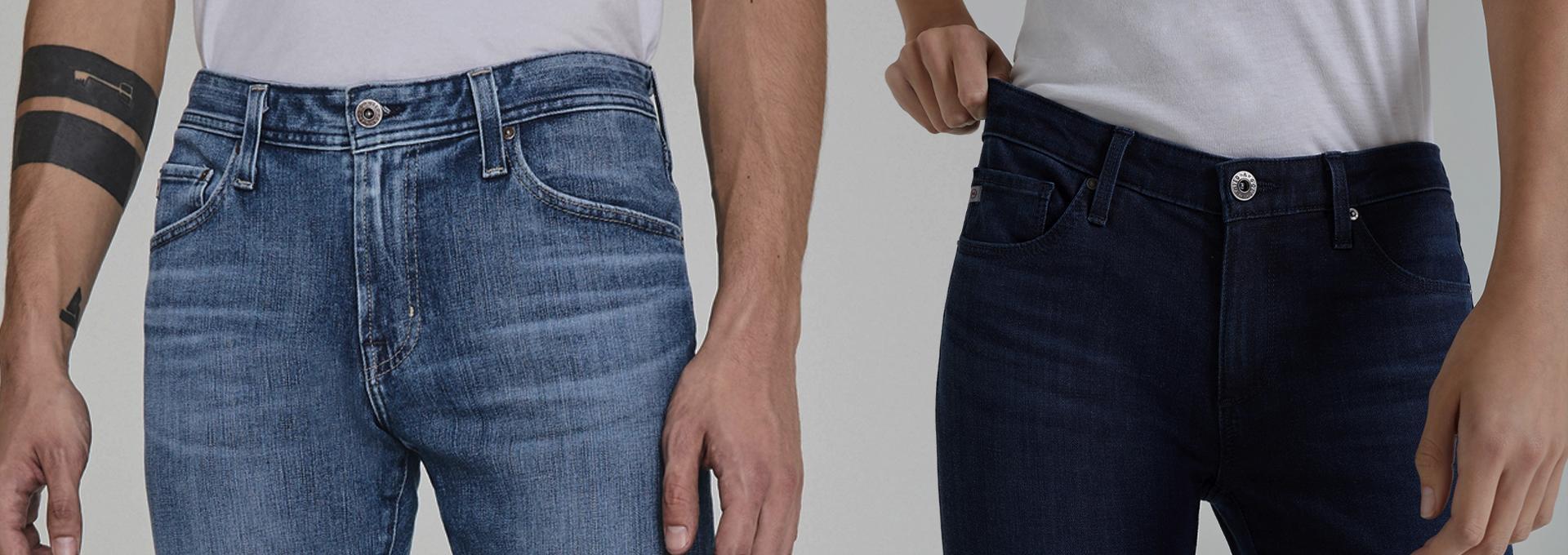 Shop Men's Denim 360 Jeans and Women's Contour 360 Jeans
