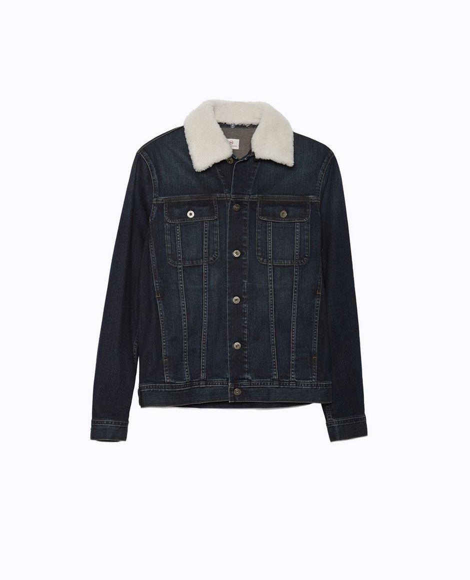 The Shearling Dart Jacket