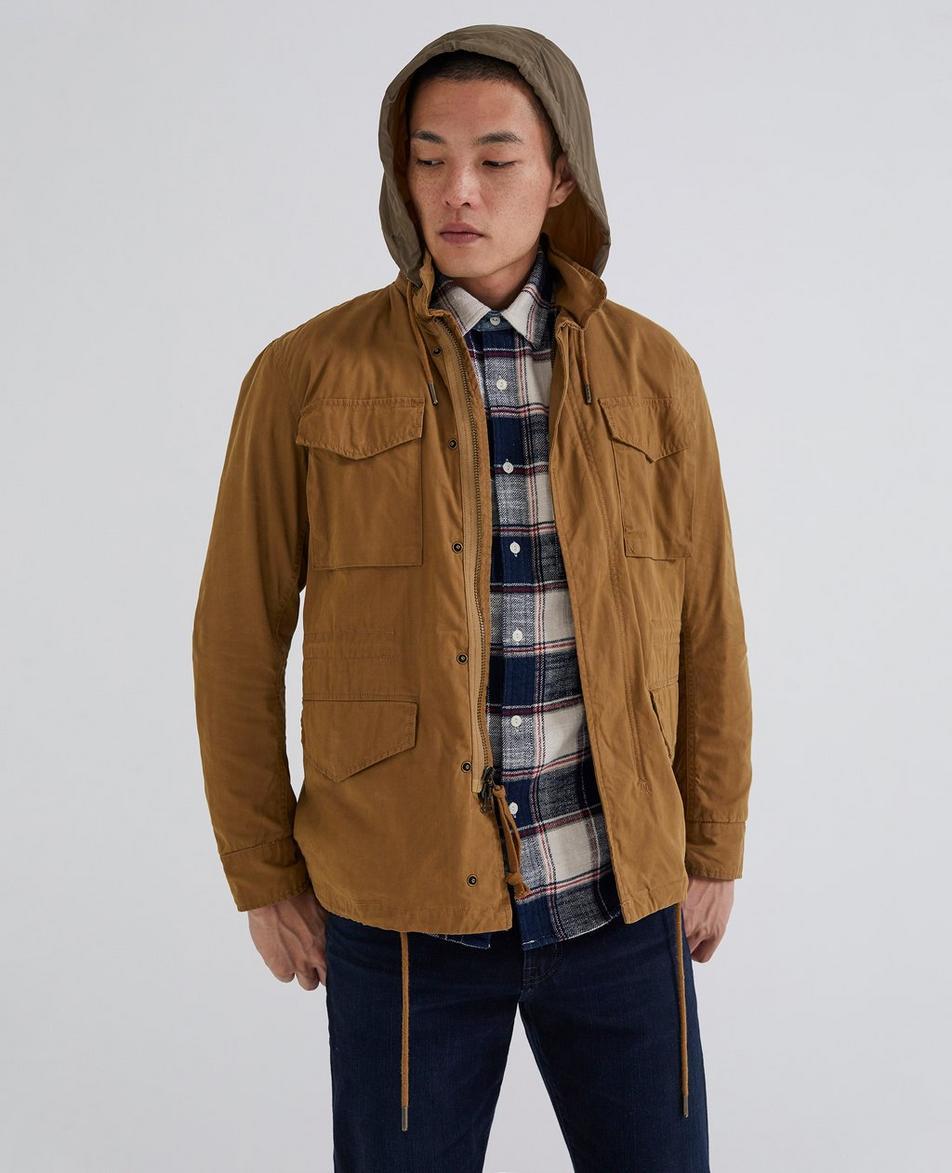The Hooded Jameson Jacket