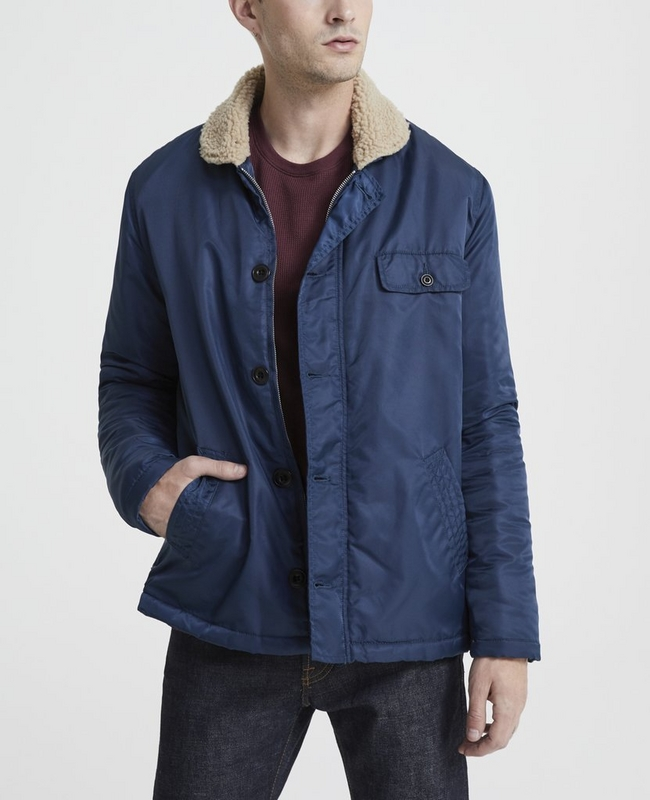Holt Shearling Lined Jacket