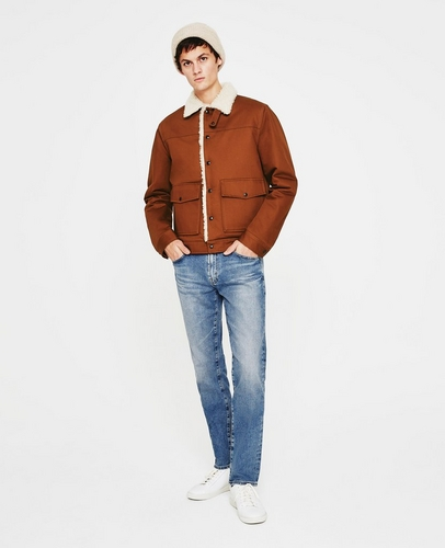 The Silo Shearling Lined Jacket