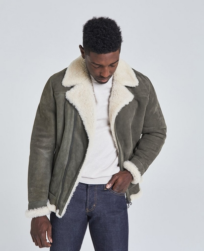 The Ion Shearling Coat