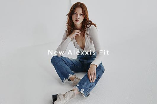 Shop The Alexxis - Spring 20's new High-Rise Vintage Straight Jean