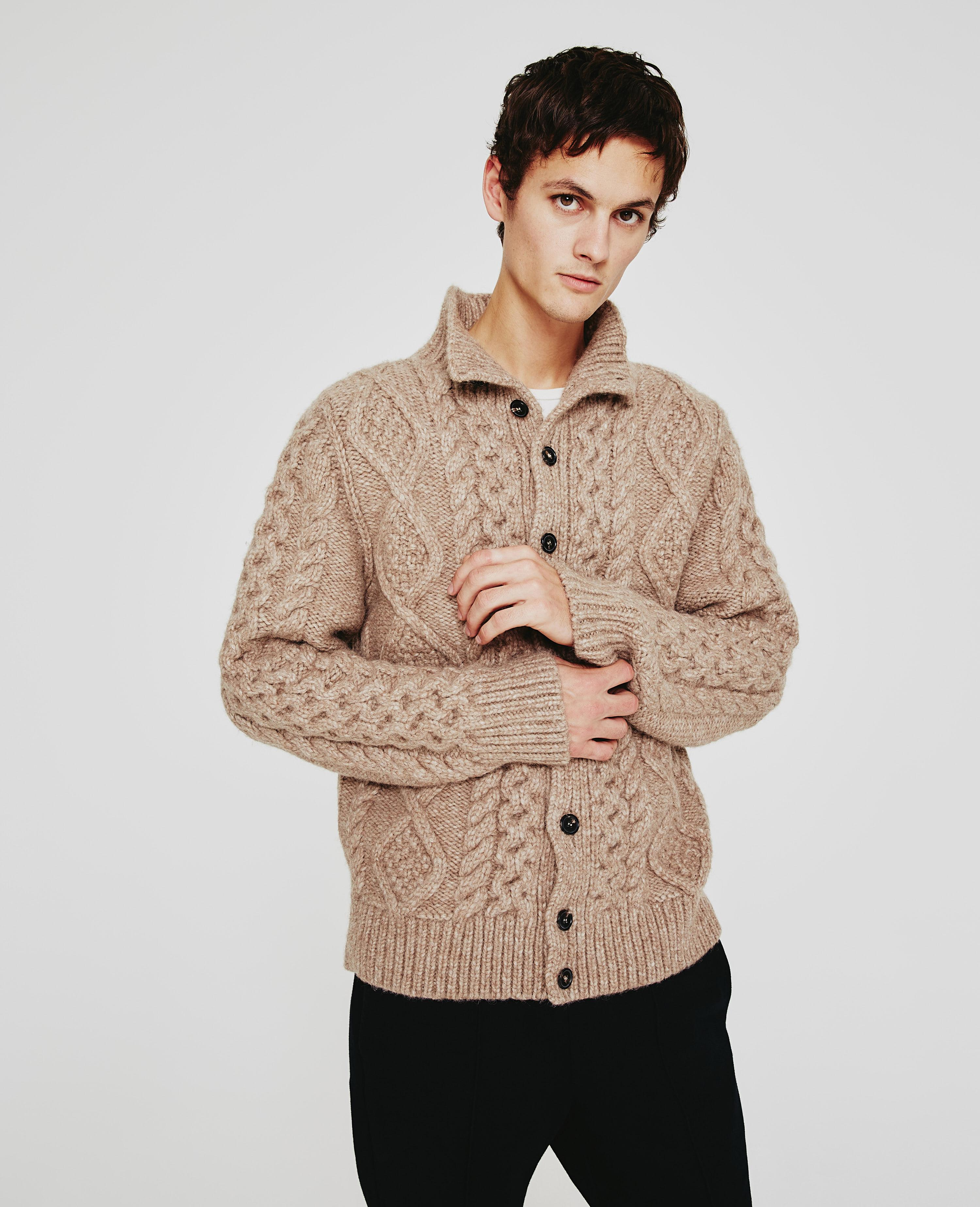 The Rex Cable Cardigan
