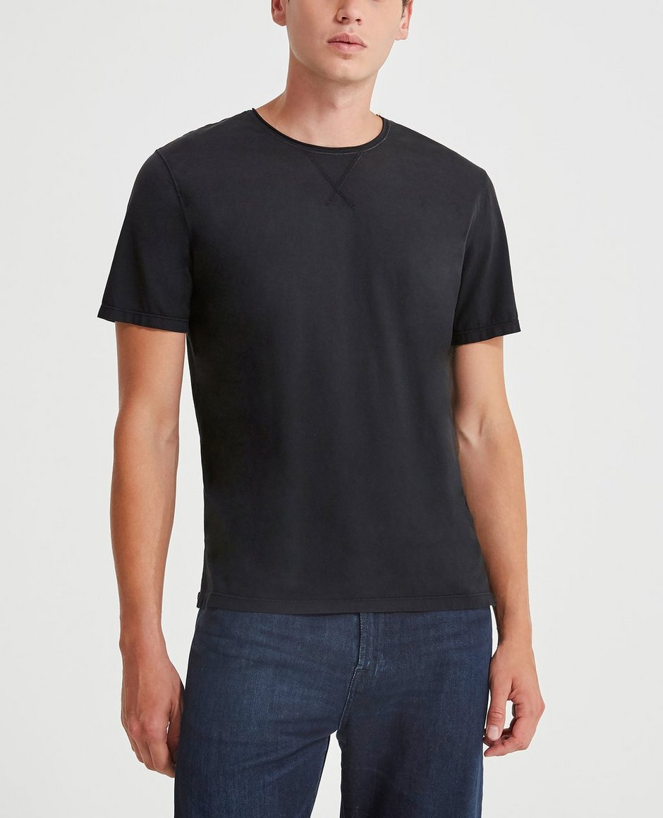 The Anders Raw Neck Tee