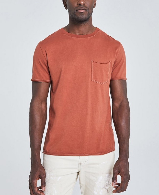 The Anders Raw Edge Pocket Tee
