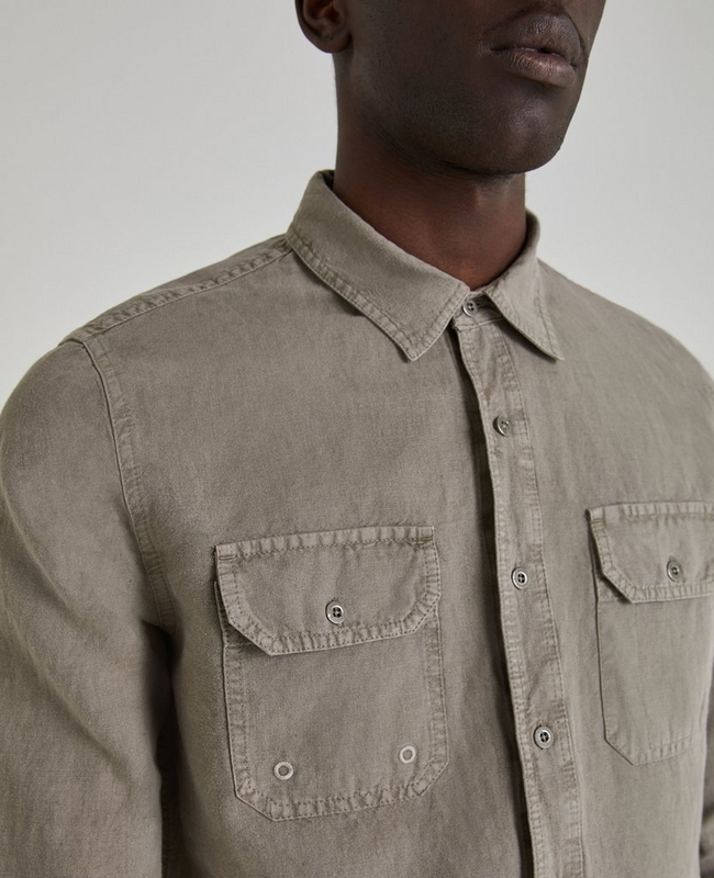 The Benning Sleeve Patch Shirt
