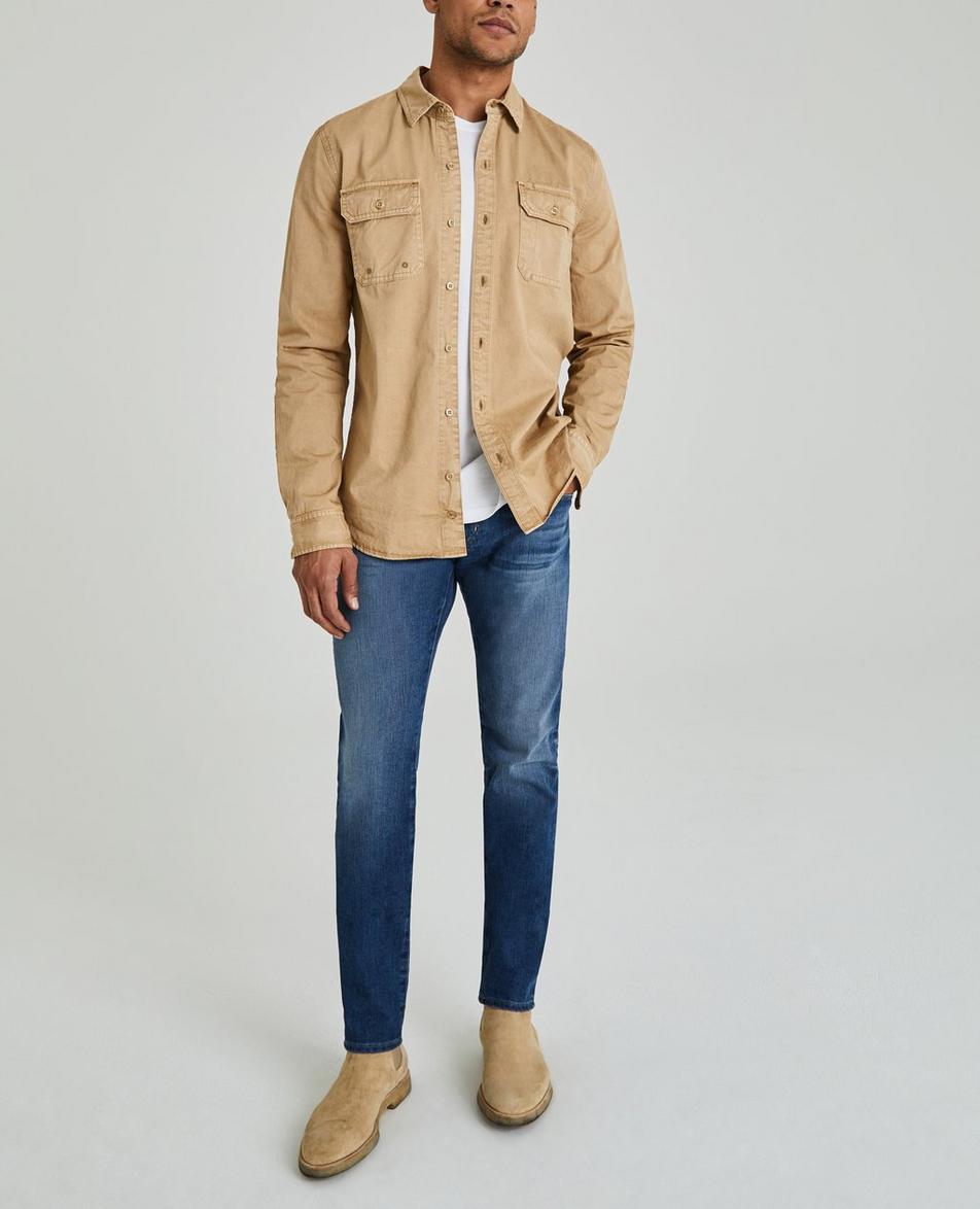 The Benning Sleeve Patch Shirt