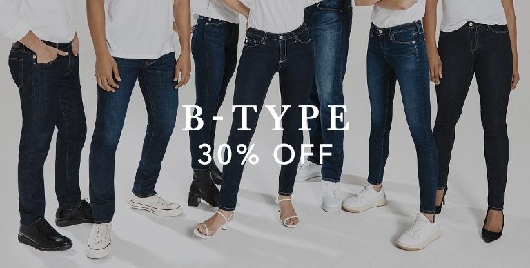 The B-Type Collection is now at 30 percent off