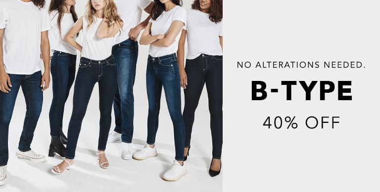 The B-Type Collection is now at 40 percent off