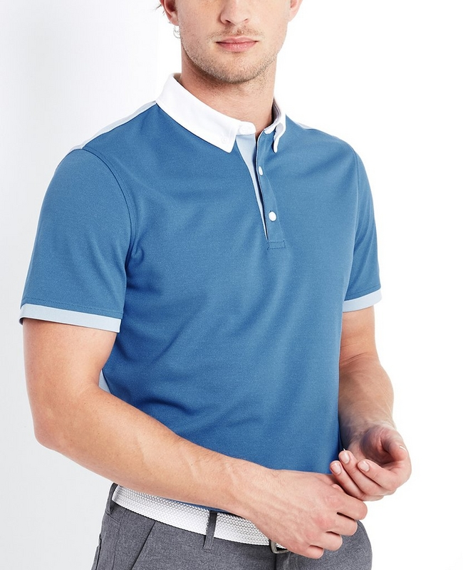 Deuce Color Block Polo