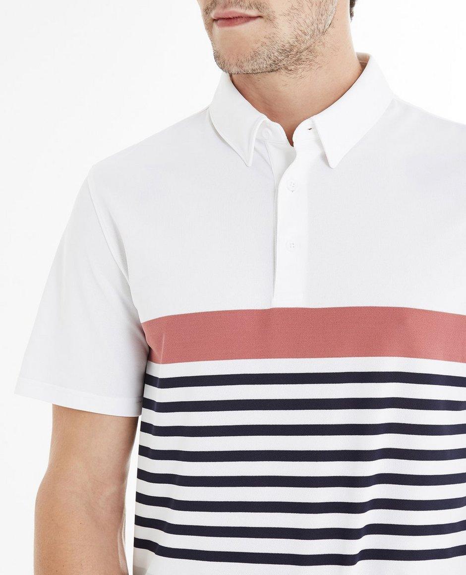The Downey Stripe Polo