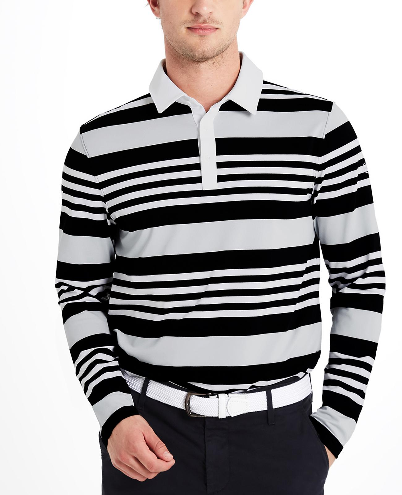 The Benson Stripe Polo